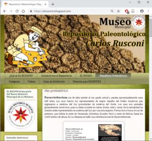 """Más información sobre Blog de """"El Rusconi"""""""