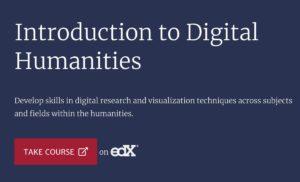 Más información sobre Curso gratuito de Introducción a las Humanidades Digitales