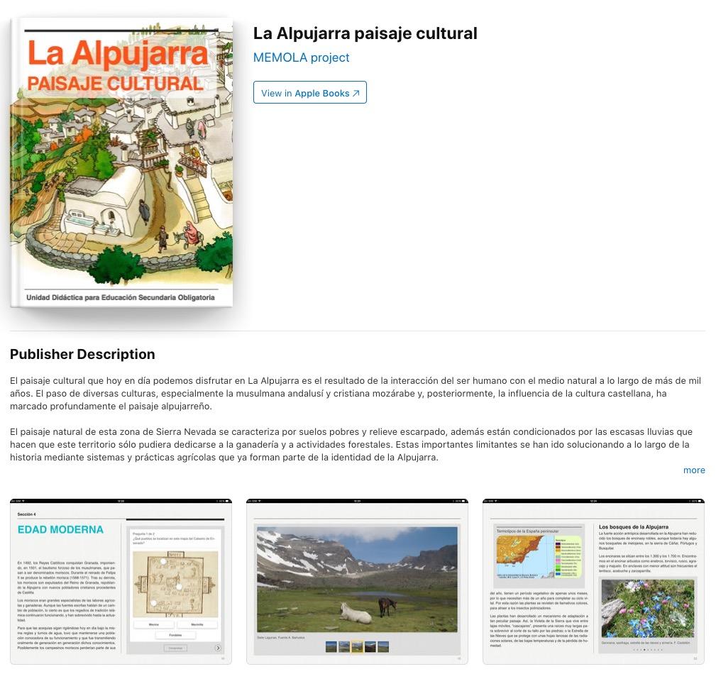 Imagen para el artefacto digital La Alpujarra paisaje cultural