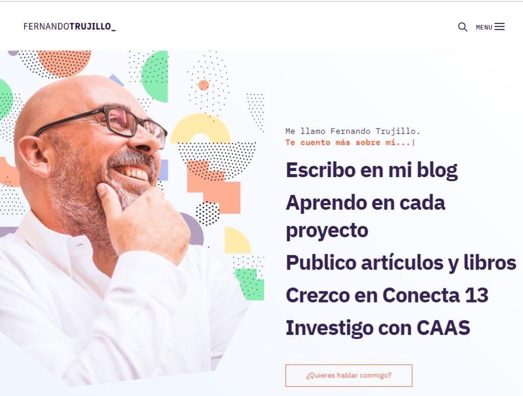 Imagen para el artefacto digital Blog personal— Fernando Trujillo