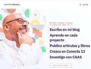 Más información sobre Blog personal— Fernando Trujillo