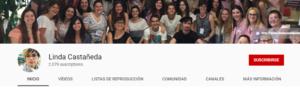 Más información sobre Canal de YouTube — Linda Castañeda