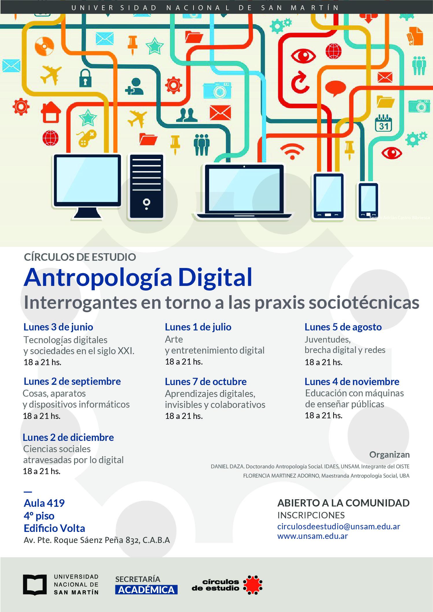 Antropología de lo Digital