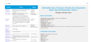 Más información sobre Bibliotecas Privadas de Navarra (siglos XVI y XVII)