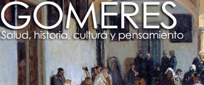 Imagen para el artefacto digital Gomeres: salud, historia, cultura y pensamiento