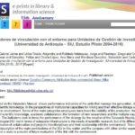 Más información sobre Indicadores de vinculación Universidad y entorno