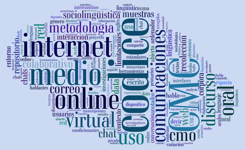 Imagen para el artefacto digital CoDiCE: Comunicación Digital: Corpus del español