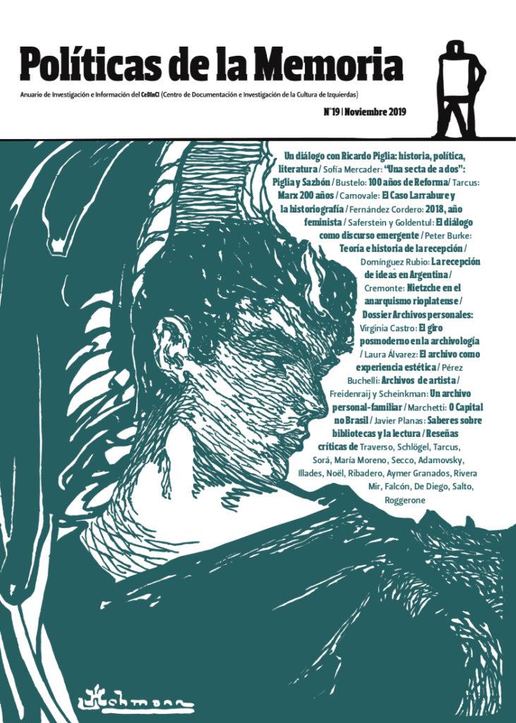 Imagen para el artefacto digital Políticas de la memoria. Anuario de Investigación del Centro de Documentación e Investigación de la Cultura de Izquierdas