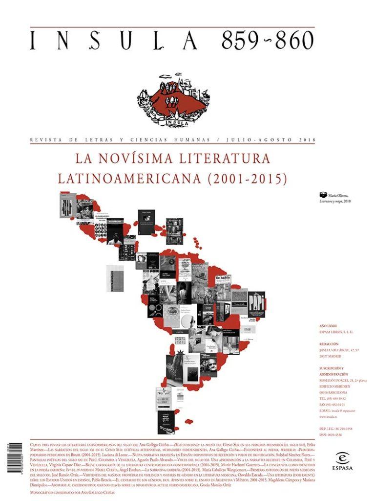 Imagen para el artefacto digital Comienzos de la novísima literatura latinoamericana (2001-2015)