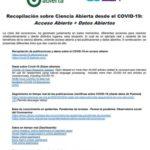 Plus d'informations sur Recopilación sobre Ciencia Abierta desde el COVID-19: Acceso Abierto + Datos Abiertos
