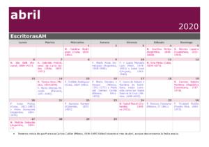 Más información sobre Calendario (efemérides)