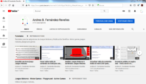 More info about YouTube Juegos Motores