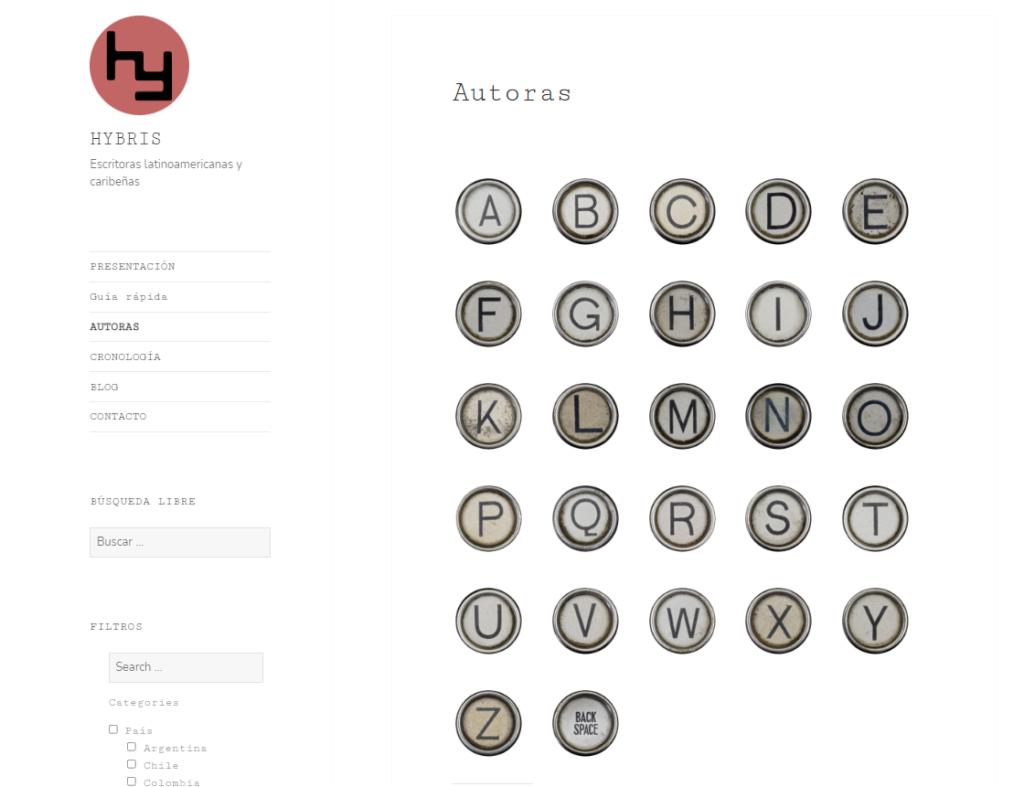 Imagen para el artefacto digital Sitio web de Hybris