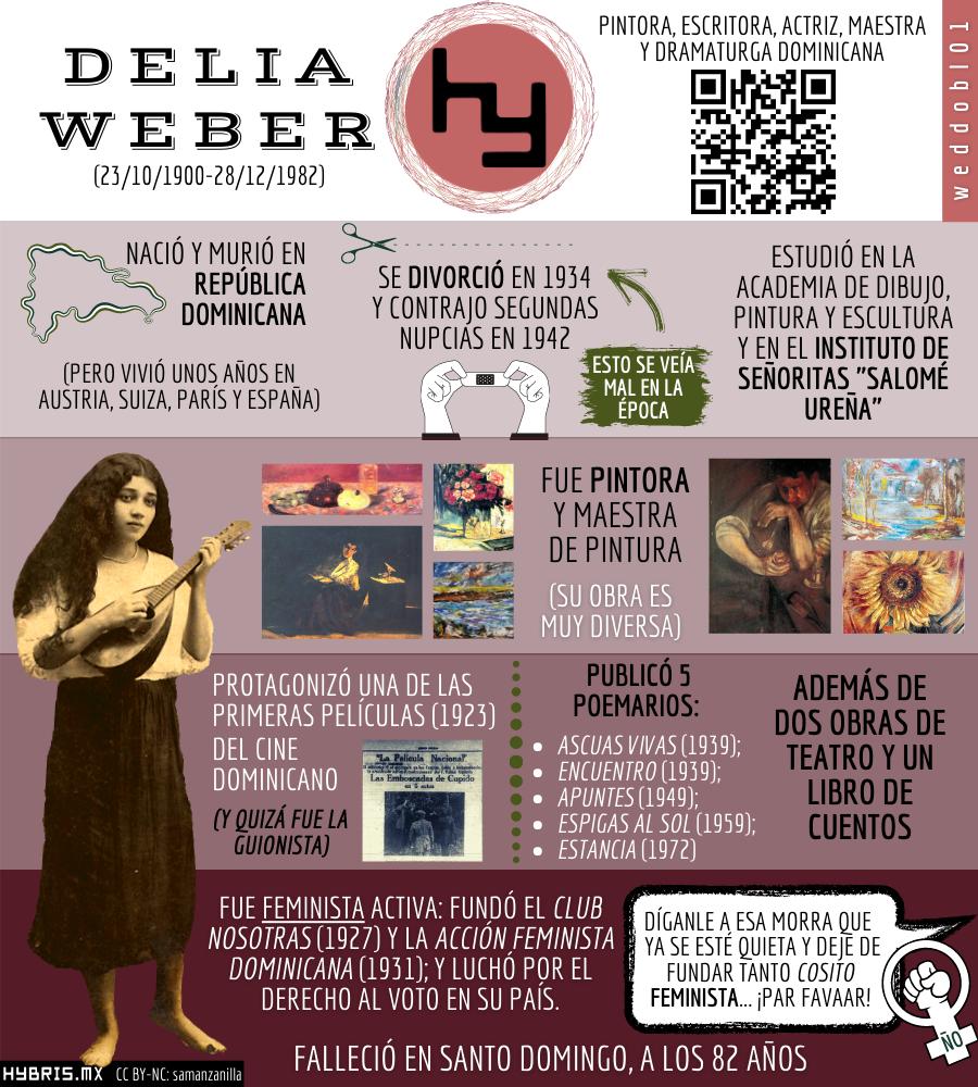 Imagen para el artefacto digital Infografía de Delia Weber